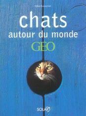 Chats Autour Du Monde Geo - Intérieur - Format classique