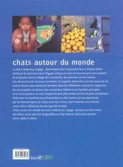 Chats Autour Du Monde Geo - 4ème de couverture - Format classique