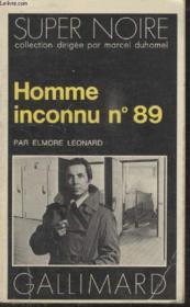 Collection Super Noire N° 86. Homme Inconnu N°89. - Couverture - Format classique