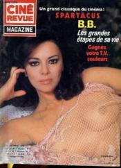 Cine Revue - Magazine - N° 10 - Spartacus - Couverture - Format classique