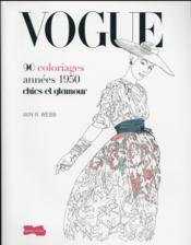 Vogue ; 90 coloriages chics et glamour - Couverture - Format classique