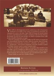 La Vendée d'antan ; coiffes et costumes - 4ème de couverture - Format classique