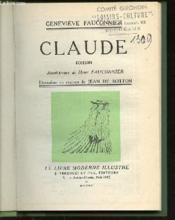 Claude - Roman / Avant-Propos De Henri Fauconnier. - Couverture - Format classique