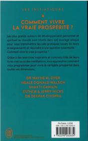 Comment vivre la vraie prospérité ? - 4ème de couverture - Format classique