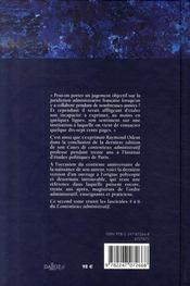 Contentieux administratif t.2 - 4ème de couverture - Format classique