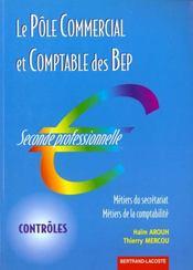 Controles 1 Pole Comm-Compta 2de Prof - Intérieur - Format classique