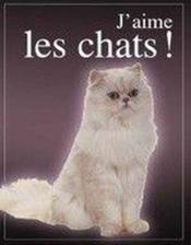 J'aime les chats ! - Couverture - Format classique
