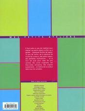 Cartes Et Carnets - 4ème de couverture - Format classique