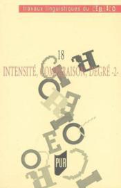 Intensité, comparaison, degré t.2 - Couverture - Format classique