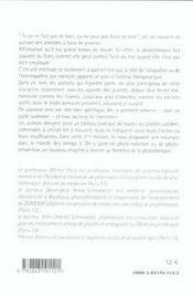 En phytotherapie - 4ème de couverture - Format classique