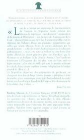 Napoleon Intime - 4ème de couverture - Format classique