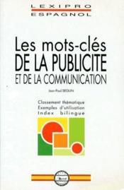 LEXIPRO ; les mots-clés de la publicité et de la communication - Couverture - Format classique