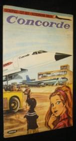 Concorde (découpage) - Couverture - Format classique