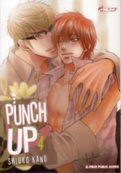 Punch up T.4 - Couverture - Format classique