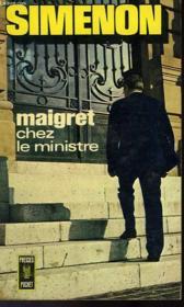 Maigret Chez Le Ministre - Couverture - Format classique
