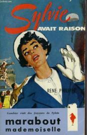 Sylvie Avait Raison - Couverture - Format classique