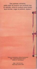 Le bouquet garni - 4ème de couverture - Format classique