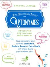 Aptonymes, ces noms qui prédestinent - Couverture - Format classique