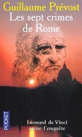 Sept Crimes De Rome - Intérieur - Format classique