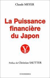 Puissance Financiere Du Japon - Couverture - Format classique