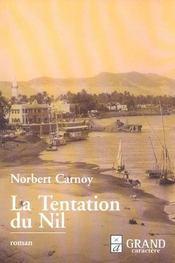 La tentation du Nil - Intérieur - Format classique