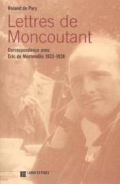 Lettres de moncoutant - Couverture - Format classique