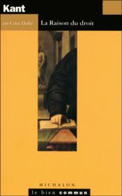 Kant - Couverture - Format classique