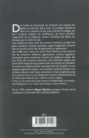 Histoire de la medecine de l'antiquite au xxe siecle - 4ème de couverture - Format classique