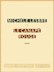 Le canapé rouge - Couverture - Format classique