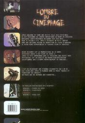 L'ombre du cinéphage t.2 ; flash-back - 4ème de couverture - Format classique