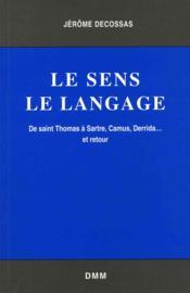 Sens le langage - Couverture - Format classique