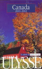 Canada ; Edition 2001-2002 - Intérieur - Format classique