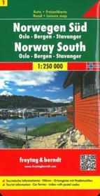 Norvege sud - Couverture - Format classique
