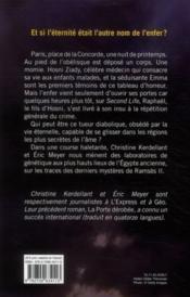 Les fils de Ramsès - 4ème de couverture - Format classique