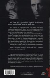 La nuit éternelle - 4ème de couverture - Format classique