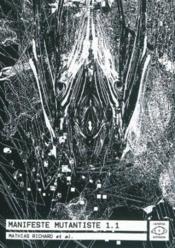 Manifeste mutantiste 1.1 - Couverture - Format classique
