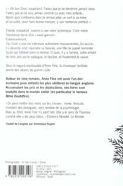 Vieille menteuse - 4ème de couverture - Format classique