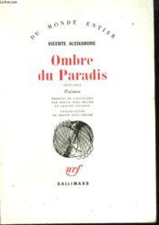 Ombre Du Paradis. ( 1939 - 1943 ). - Couverture - Format classique