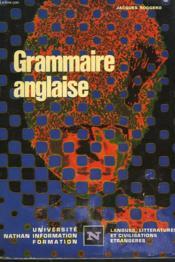 Grammaire Anglaise - Couverture - Format classique