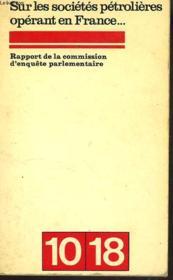 Rapport De La Commission D'Enquete Parlemantaire Sur Les Societes Operant En France - Couverture - Format classique