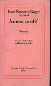Amour Tardif - Nouvelles - Couverture - Format classique