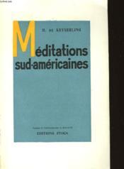 Meditations Sud-Americaines - Couverture - Format classique