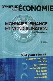 Monnaies, finance et mondialisation (3e édition) - Intérieur - Format classique