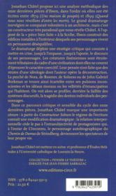Henrik Ibsen, le constructeur ; penser le théâtre - 4ème de couverture - Format classique