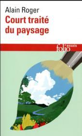 Court traité du paysage - Couverture - Format classique