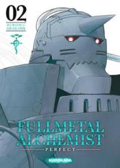 Fullmetal alchemist - perfect edition T.2 - Couverture - Format classique
