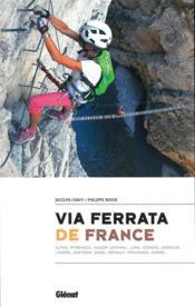 Via ferrata de France - Couverture - Format classique