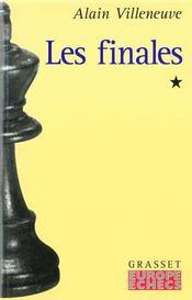 Les finales t.1 - Intérieur - Format classique