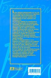 Deshydratation Aigue Du Nouveau-Ne Et Du Nourrisson - 4ème de couverture - Format classique
