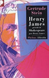 Henry James - Intérieur - Format classique